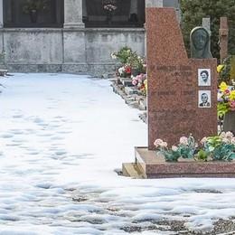 Monte Olimpino  Nessuno spala  la neve al cimitero