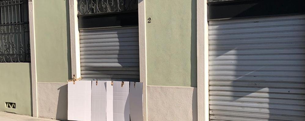 Cernobbio, spaccata in boutique  È la terza volta in 6 mesi