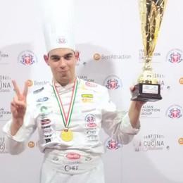 Il migliore è Davide, 23 anni  Campione di pasticceria
