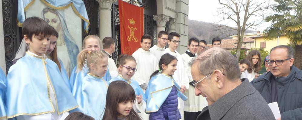 Albavilla, gli auguri del Papa  per il 25° di Radio Mater
