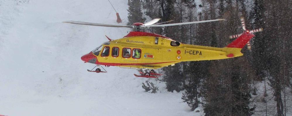 Tragedia in Valfurva  Muore snowboarder
