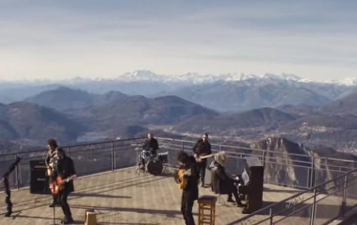 Il video dei Negrita  La Sighignola  più rock di Sanremo