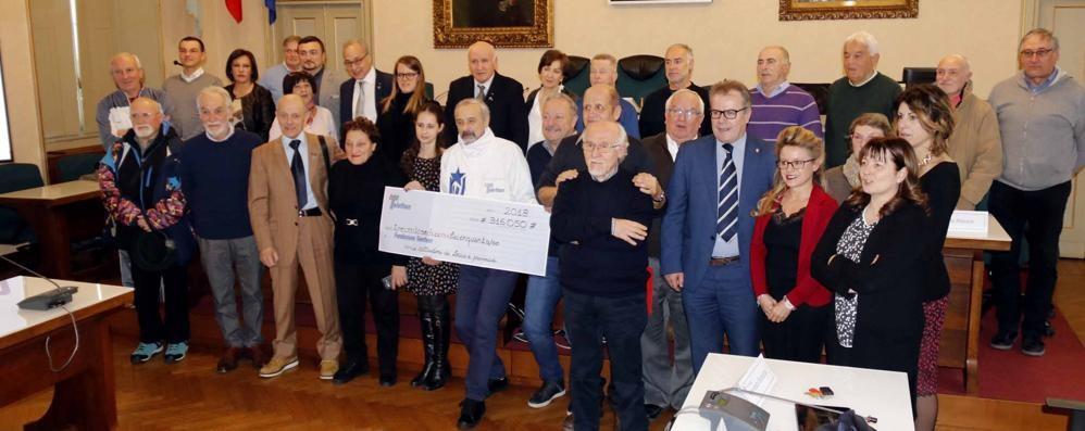 Telethon, un altro record  Nel 2018 raccolti 316mila euro