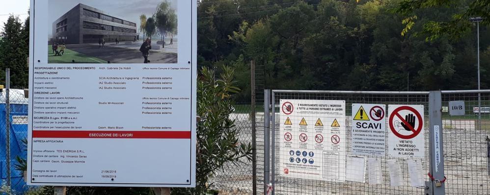 Cantiere fermo, è scontro a Capiago  «Negato l'incontro di chiarimento»
