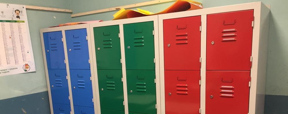 nuovo prodotto 52e25 7c91d Olgiate, stop agli zaini pesanti A scuola gli armadietti per ...