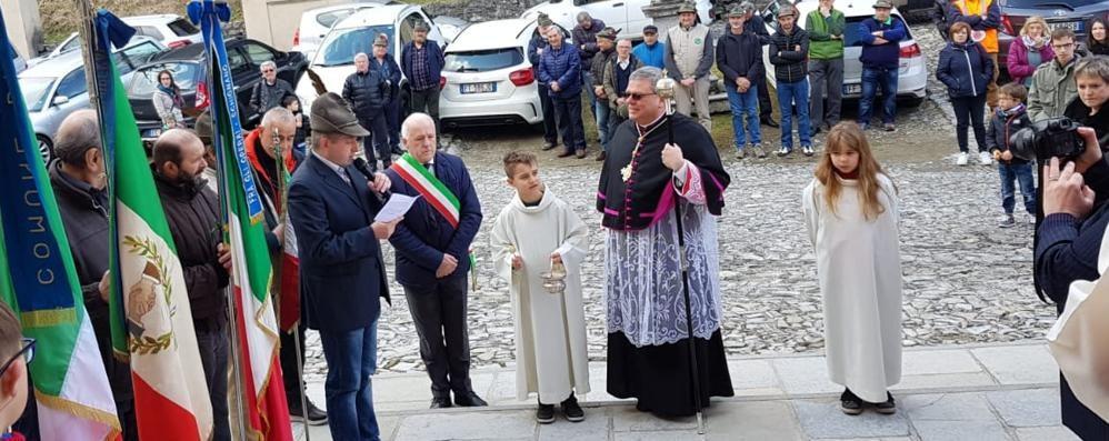 Schignano e Argegno  accolgono il nuovo parroco