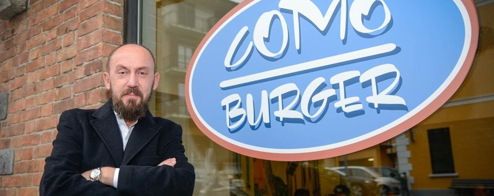 Hamburger gourmet  Una sfida vinta  tutta made in Como