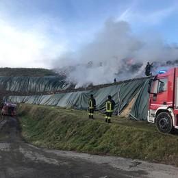 Incendi in discarica a Mariano  «C'è l'ombra della 'ndrangheta»