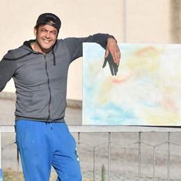 Milton, il ballerino che stregava le donne  Ora fa l'artista nella sua casa di Uggiate