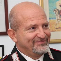 Carabinieri in lutto  Addio al luogotenente D'Angelo  «Un riferimento per Mariano»