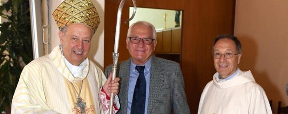 Lipomo dice addio al sacrestano  È scomparso un anno dopo la figlia