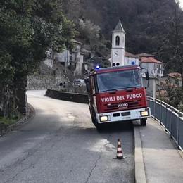 Si ribalta con il trattore  Uomo ferito a Nesso
