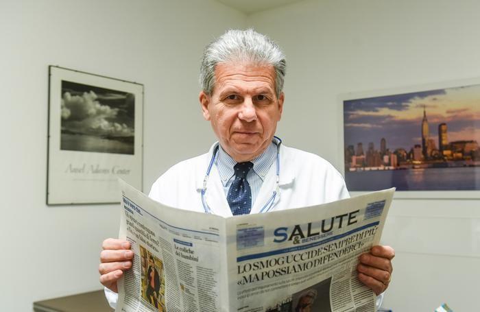 Il presidente dell'Ordine dei Medici di Como Gianluigi Spata