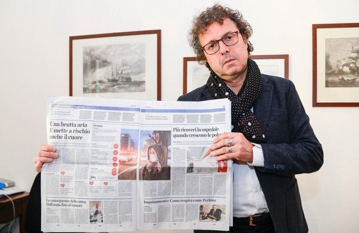 Claudio Zanon, direttore sanitario dell'ospedale Valduce