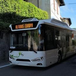 Autobus elettrico per l'Europa  La sfida passa da Olgiate