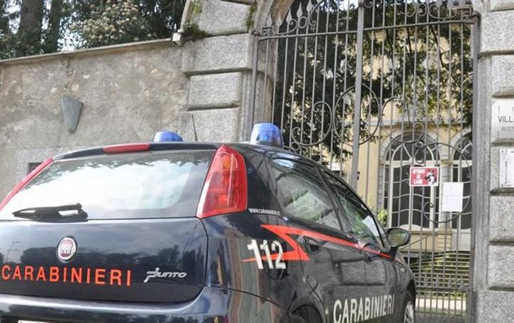 Rapina a Villa Odescalchi Alzate Brianza, due arresti