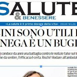 Mercoledì con La Provincia  l'inserto SALUTE&Benessere