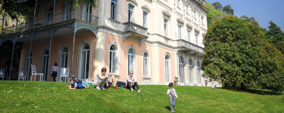 Riparte la stagione  di Villa del Grumello  Paesaggio e cultura