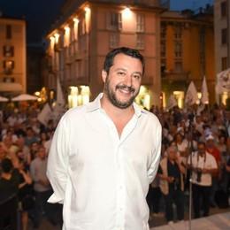 Salvini: «Como Fantastica  Tangenziale da finire»