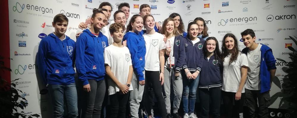 """Como Nuoto e Ice Club super al trofeo """"Città di Milano"""""""