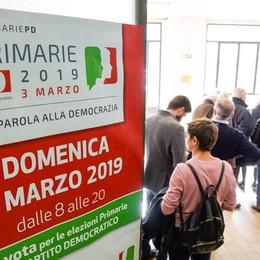 Primarie Pd a Como  Stravince Zingaretti  Quasi 9mila votanti