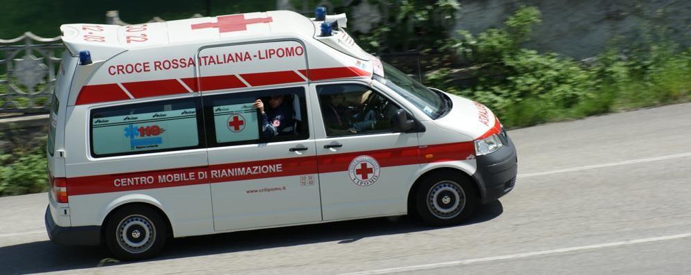 Tavernerio, scontro sulla Briantea  Donna finisce in ospedale