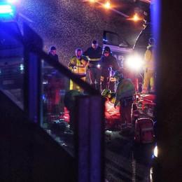 Pedone investito sull'Autolaghi Ancora non è stato identificato  Il video girato da un camionista