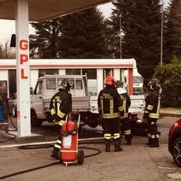 Perdita di Gpl a Mariano Intervengono i vigili del fuoco