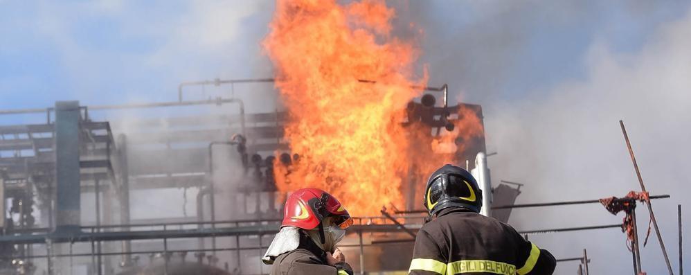 Ecosfera, l'incendio è alle spalle  «Vogliamo restare a Bulgarograsso»