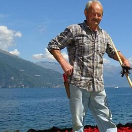 Addio Nino, geniale giardiniere   Villa Melzi la sua casa da 50 anni