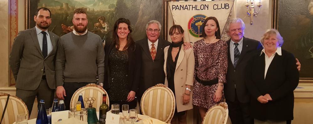 I cent'anni della Como Nuoto L'augurio speciale del Panathlon