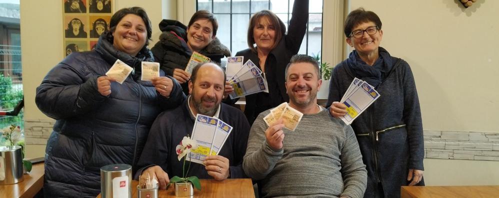 Tre vincite da centomila euro  La fortuna sceglie il Comasco