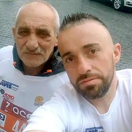 «Io e papà alla maratona  Ho spinto la sua carrozzina»