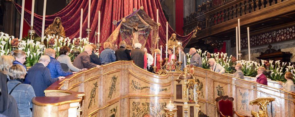 Settimana santa al via oggi in Cattedrale  E dal pomeriggio il bacio al Crocifisso