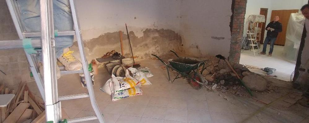 Bizzarone, più spazio per gli anziani  Iniziati i lavori alla sede