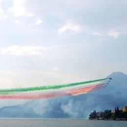 """Le """"Frecce Tricolori""""  si esibiranno a Varenna"""