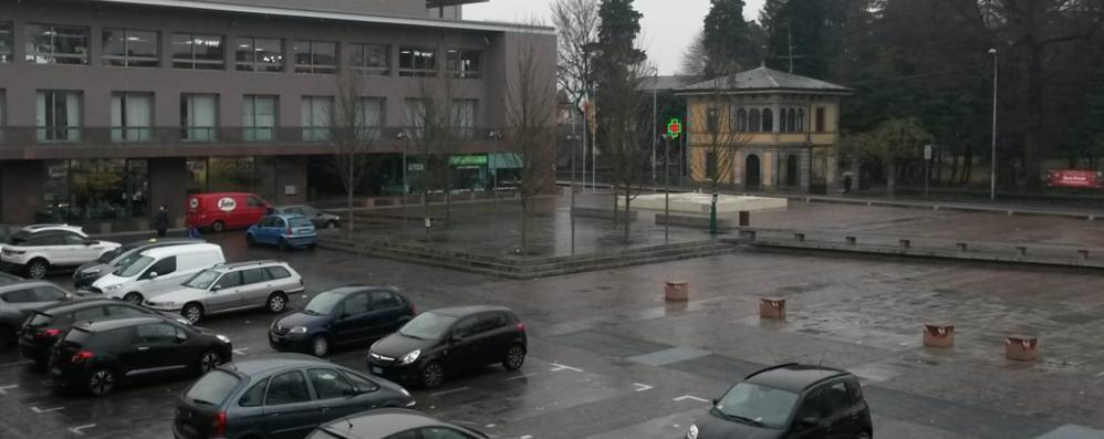 Olgiate, allarme spaccio  «Più controlli in piazza Italia»