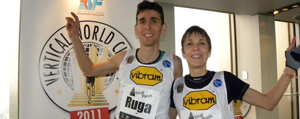 Ruga campione italiano di Vertical running