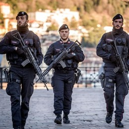 Sicurezza, a Como arriva l'esercito  Il ministro Salvini: «Richiesta del territorio»