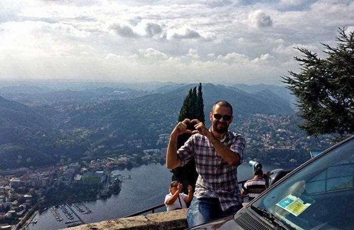 Filippo Nelli a Brunate