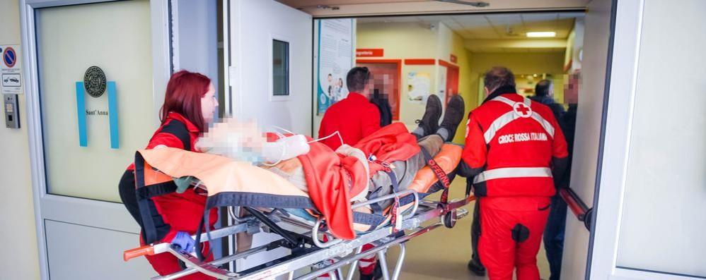 Incidente a San Martino Pensionata in ospedale