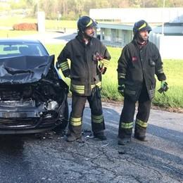 Incidente sulla Briantea  Traffico in tilt a Lurago