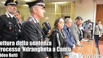 'Ndrangheta - la sentenza