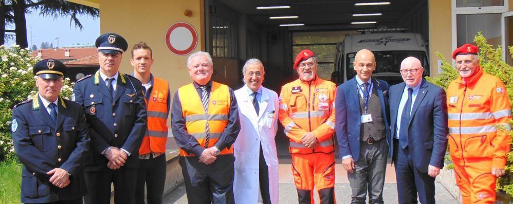 Pronto soccorso, i volontari  «A Cantù ospedale più sicuro»