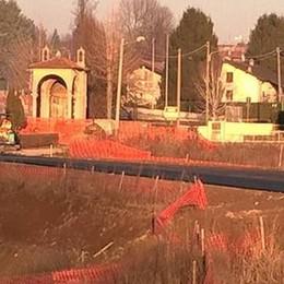 Ponte e tangenziale a Bregnano  «I lavori riprenderanno il 13 maggio»