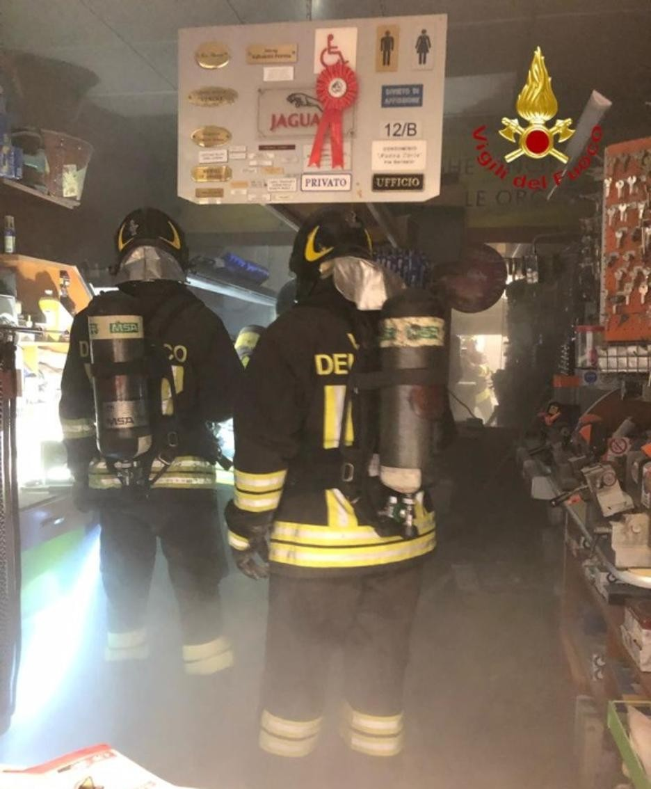 La messa in sicurezza del negozio