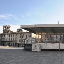 Cantù sfida il concertone di Roma  Primo maggio di musica in piazza