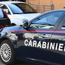Auto rubata a Ponte Lambro  Ladro arrestato dai carabinieri