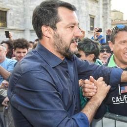Salvini domenica a Cantù  Per sostenere Galbiati