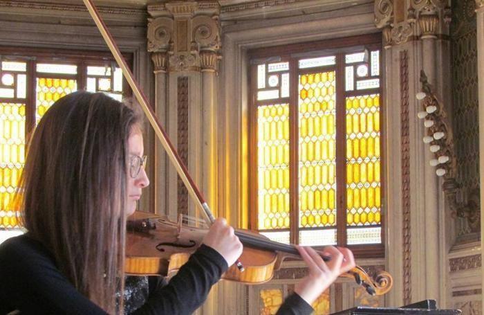 La violinista Valeria Vecerina